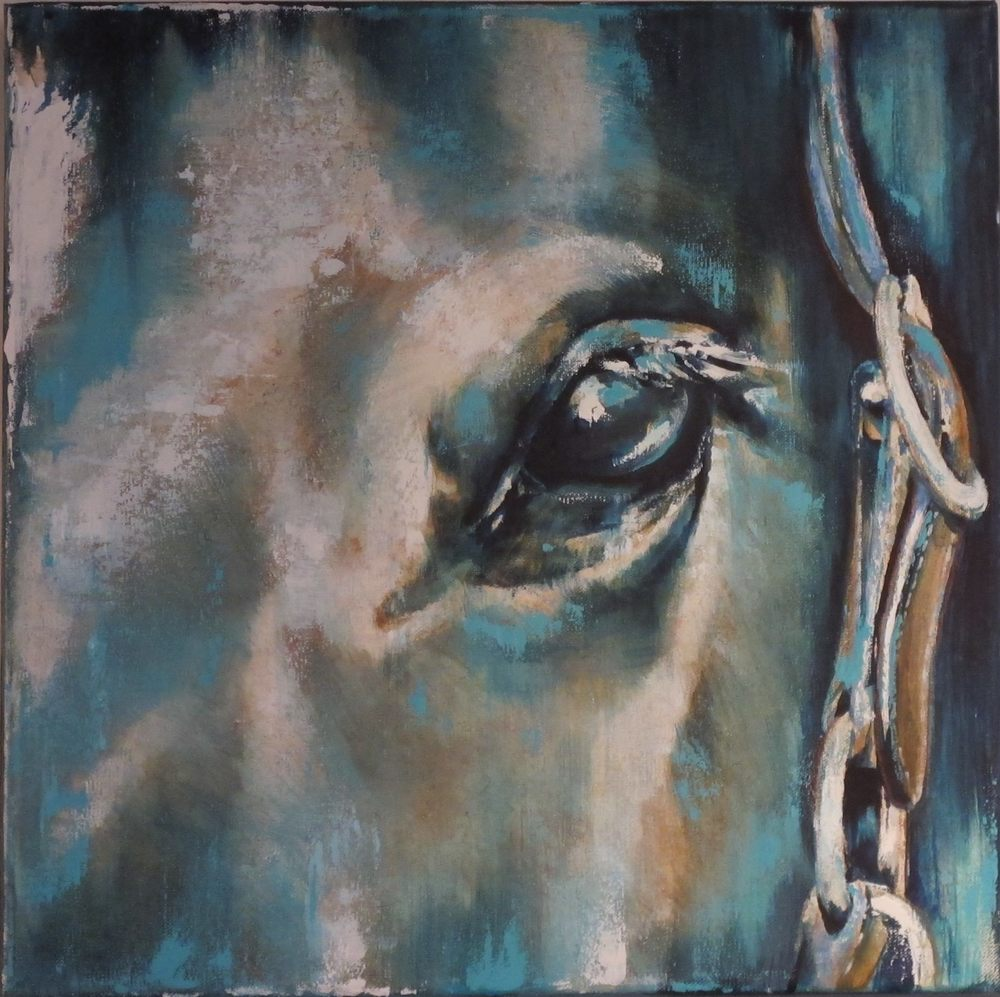 Blue Horse Study