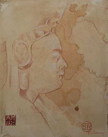 Study of Terracotta Buddha