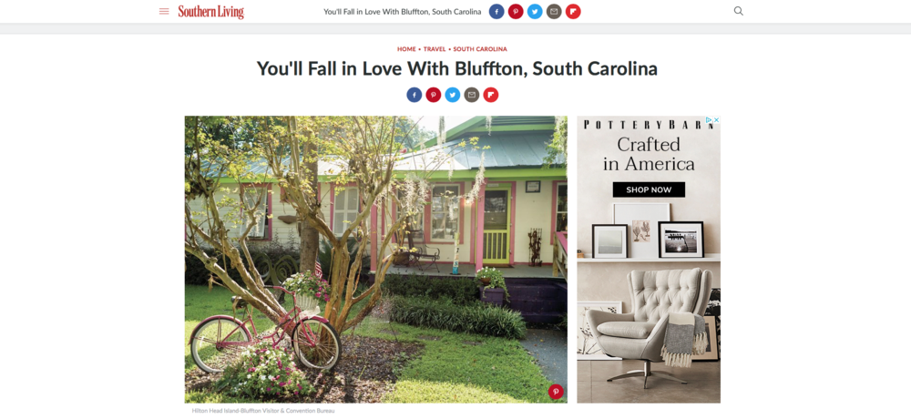 You'll Fall in Love  -  With Bluffton, South Carolina