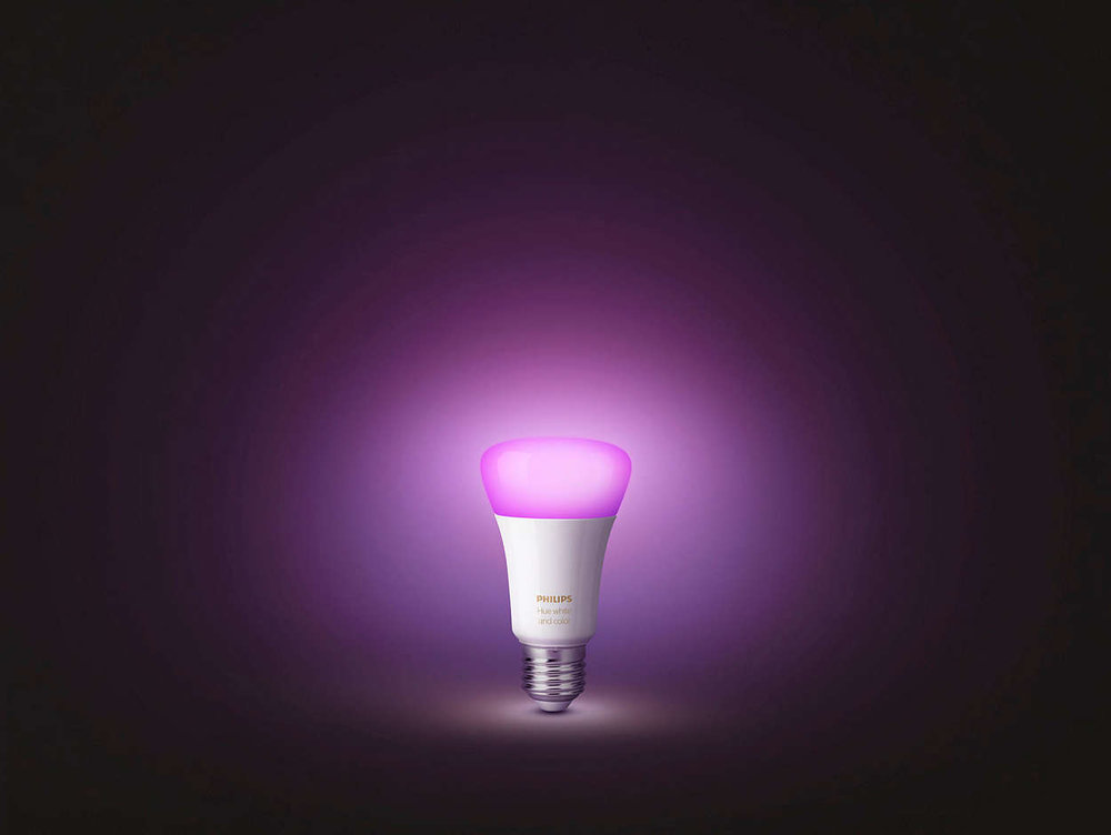 4) Philips Hue White LED Starter Kit -