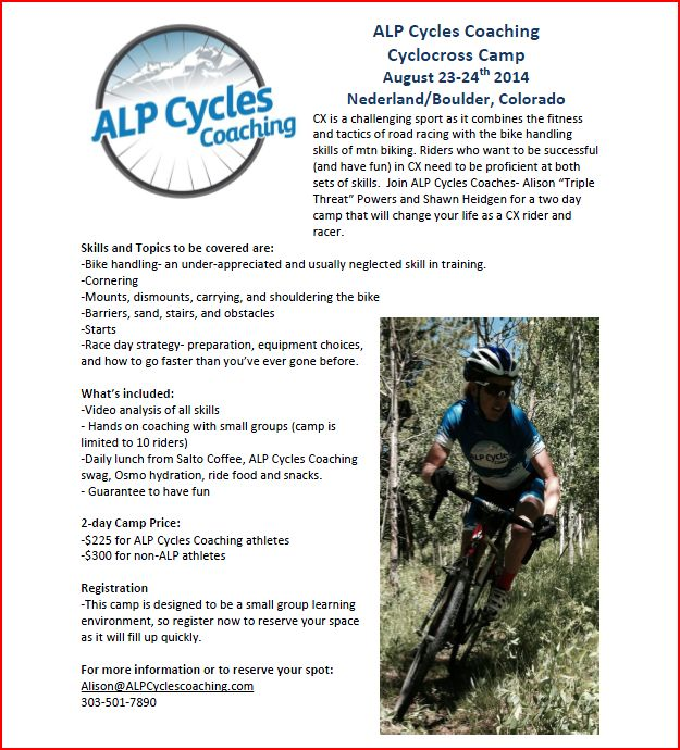 ALP CX Camp