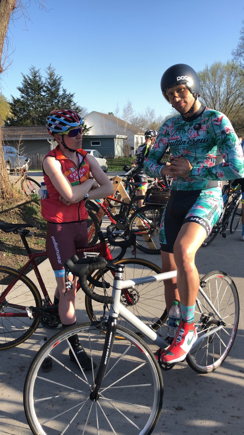 When racing locally, make sure to bring your best crew. - #fashun