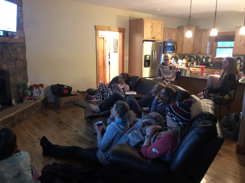 The Team watching the CX World Championships