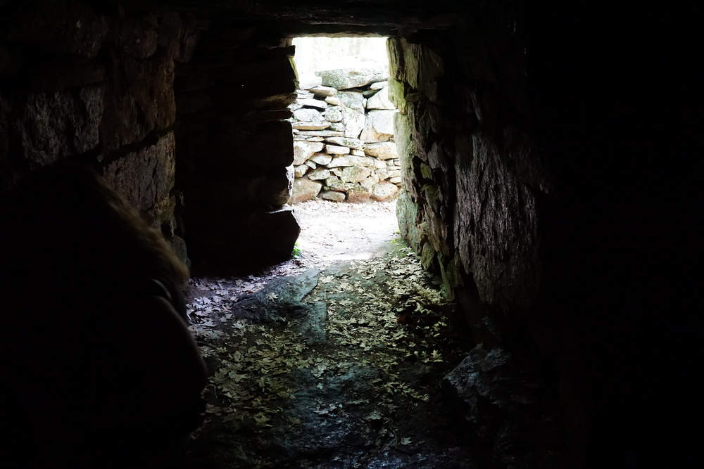 Exploring Mystery Hill's Oracle Chamber
