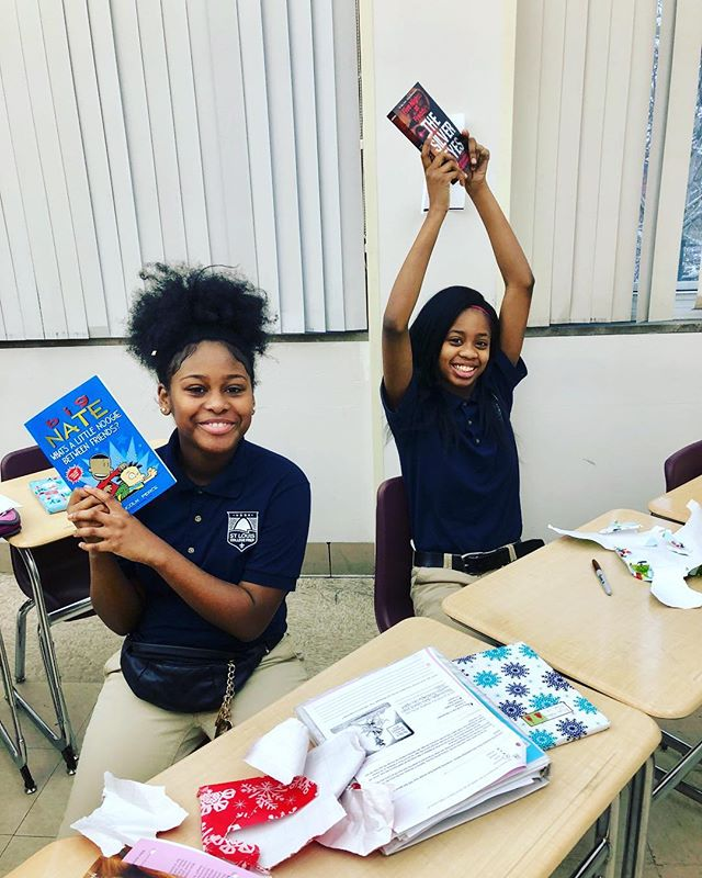 "Our 2018 Holiday Book Drive is in full swing!  Each year, scholars at SCP get the opportunity to pick out books that they would like to receive as holiday gifts.  After the books are donated, we wrap and deliver them to the students during their English classes.  Book day is always one of the happiest and most exciting days of the school year.  Browse our scholars' wish list here: http://a.co/83WDbVY  When you purchase a book, please select ""Sherrell Hendrix's gift registry"" as your shipping address so that it is delivered to our school. 📚📚📚📚📚📚📚📚"