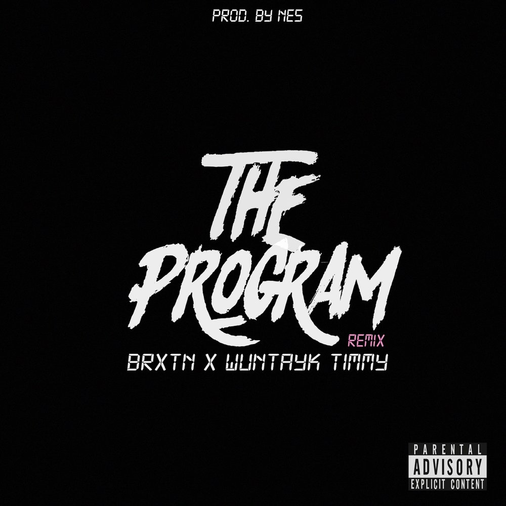the program brxtn wuntayk timmy album art