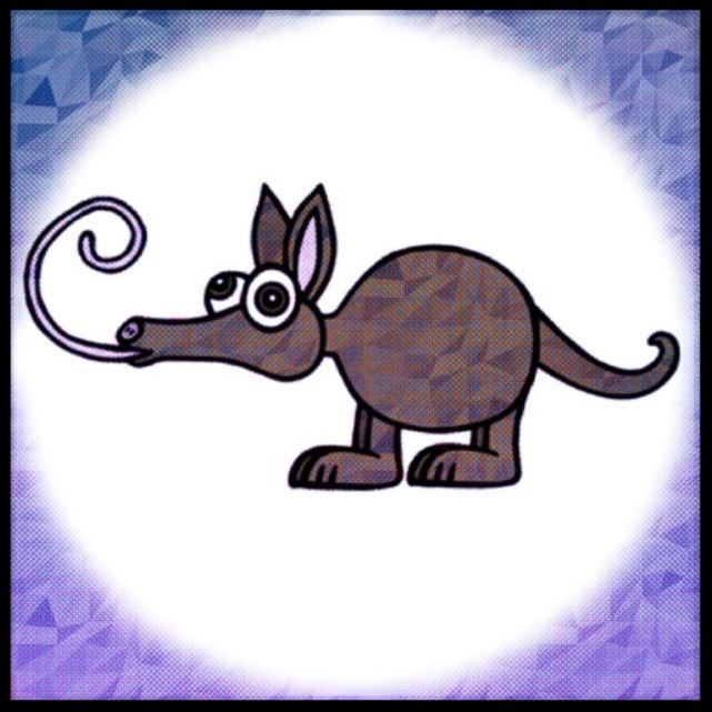 young aardvark