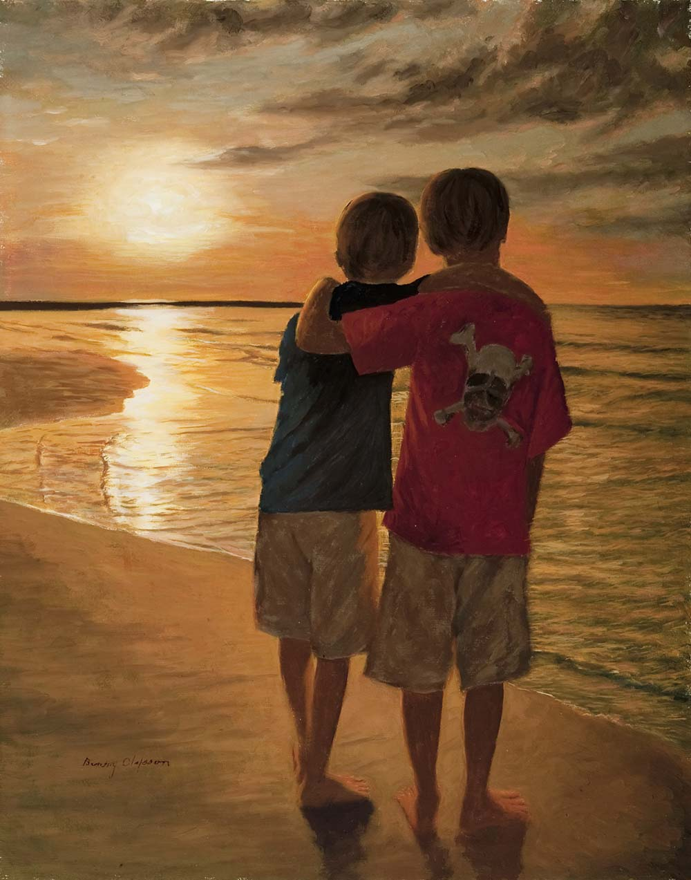 Olofsson 11 X 14 Oil Portrait of Garrett & Matthew.jpg