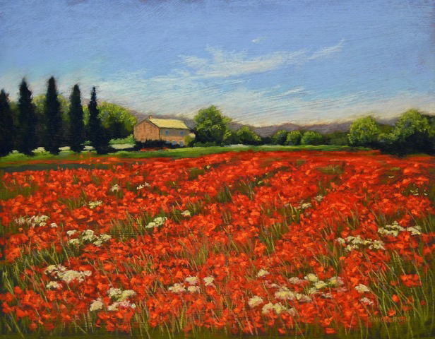 247 Farm House with Poppies 300 (002).jpg