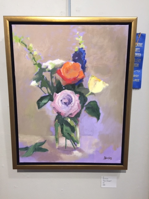 1st Place Oil- Jane Eccles