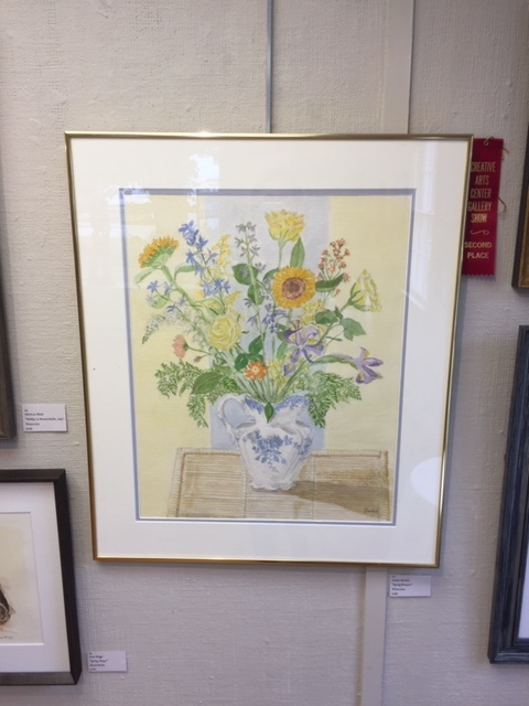 2nd Place Watercolor- Joanne Burdick