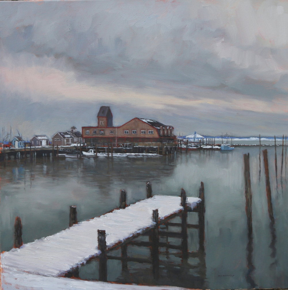 A Finger Pier and Harbor 24x24 F KENNEDY PTG .JPG