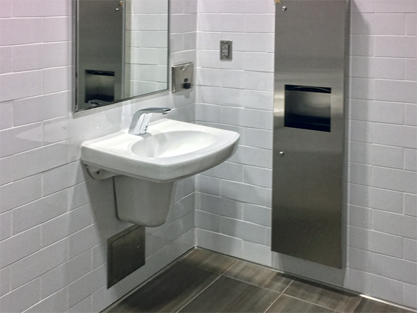 Accessible Heights Of Accessories At Lavatories Rethink