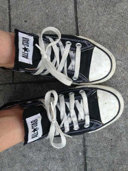 Leah Grey's Converse