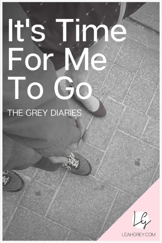 "They Grey Diaries ""Dear Diary: It's Time For Me To Go"" by: Leah Grey. A real humans of new york story of a girl who moved to the city for love and ended up caught in a nightmare. From a drug-addicted husband to her own battle with anxiety and fear, you won't want to miss this exciting series from Grey Ministries."
