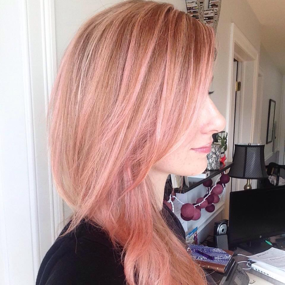 Dyed my hair pink, decided to do things for me