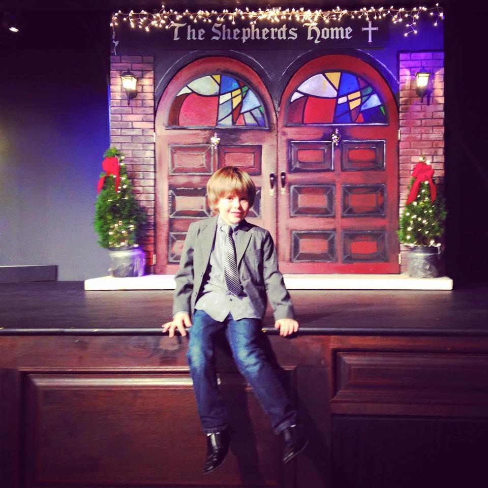 At the Church Christmas Play