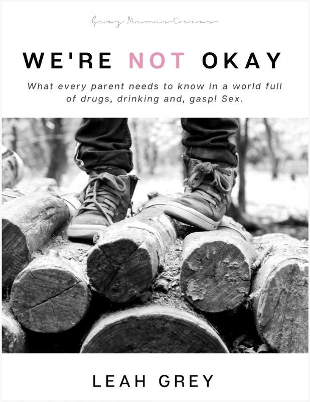 We're Not Okay by Leah Grey