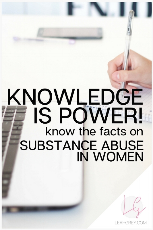 Know the Facts about Addiction in women. Although women are 50% less likely than men to get addicted to substances they suffer greater consequences as a result of their addictions. They also suffer with mood and anxiety disorders and use substances to treat their moods and even sometimes, weight. Learn more about the facts of substance abuse disorders in women and where to get help!