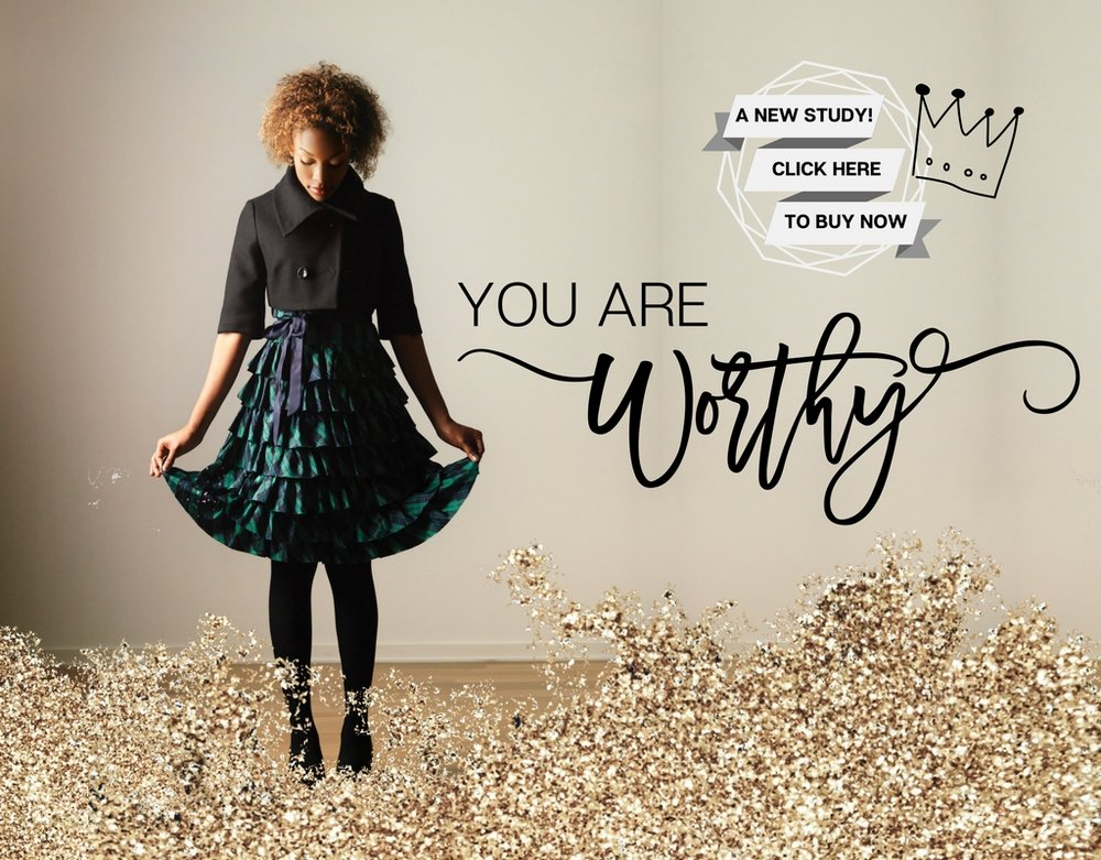 You Are Worthy. For the woman who devalues herself and wants to know her worth to God. A New Bible study by Grey Ministries for women with loved ones who struggle with addiction.