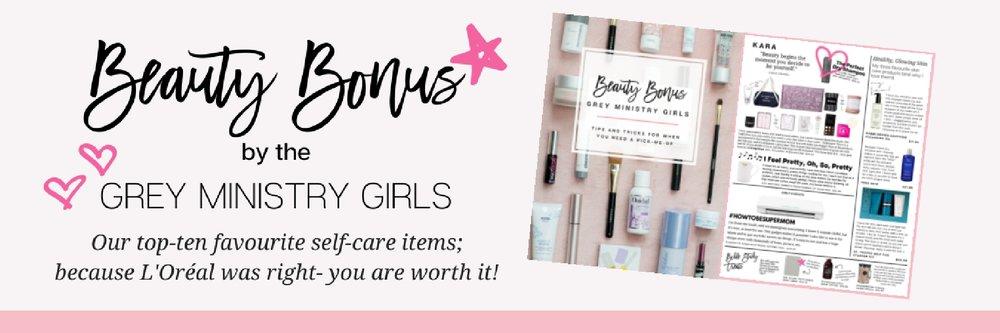 Grey Ministry Girls beauty bonus