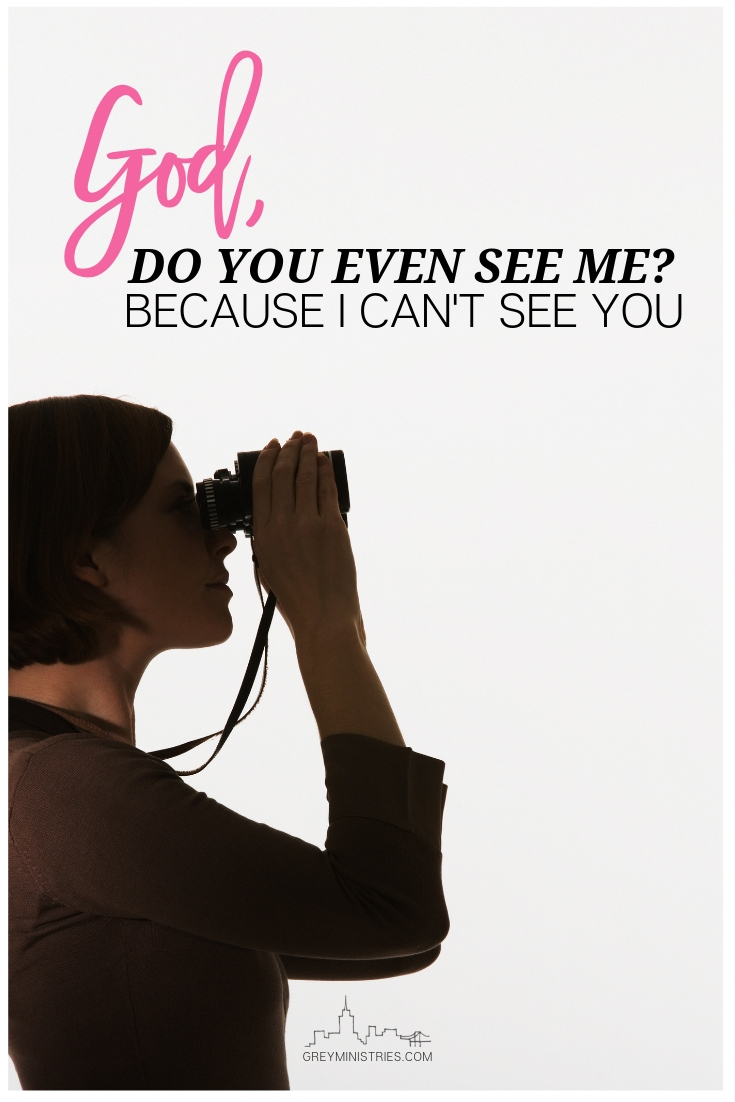 God is the ultimate filmmaker. Wouldn't it be so cool to show up in heaven and see the movie reel of our lives? Imagine how many small moments there were, like the one from my home movie,  where God saw us,  when we didn't see Him.