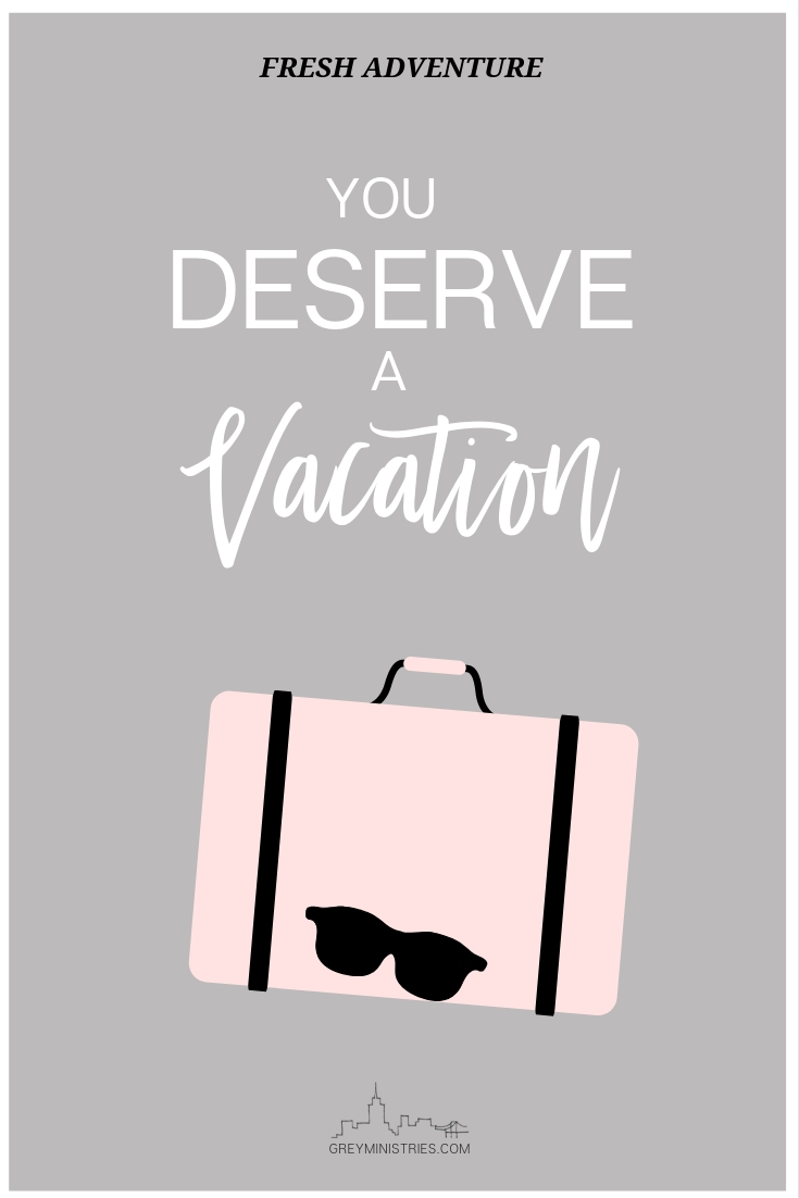 Does your loved one have an addiction? This is why you need a vacation! Join Grey Ministries as we go over three ways to have a vacation from their addiction and TAKE A BREAK. Really, you deserve it. You need it.