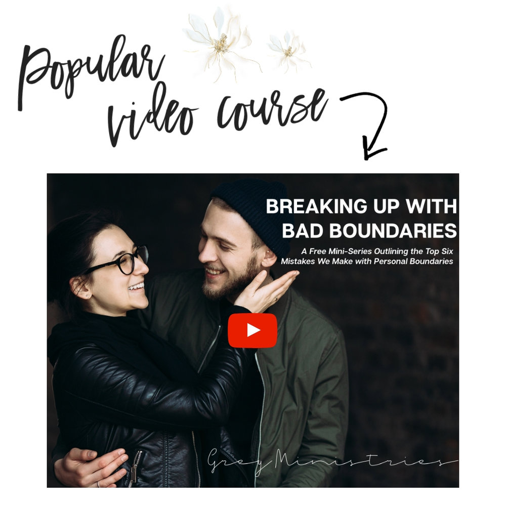online course on boundaries for christian women with loved ones who struggle with addiction