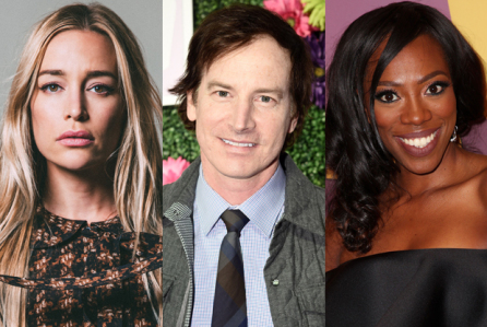 Piper Perabo, Rob Huebel & Yyonne Orji  - are the Carlyles and Special Agent Carla
