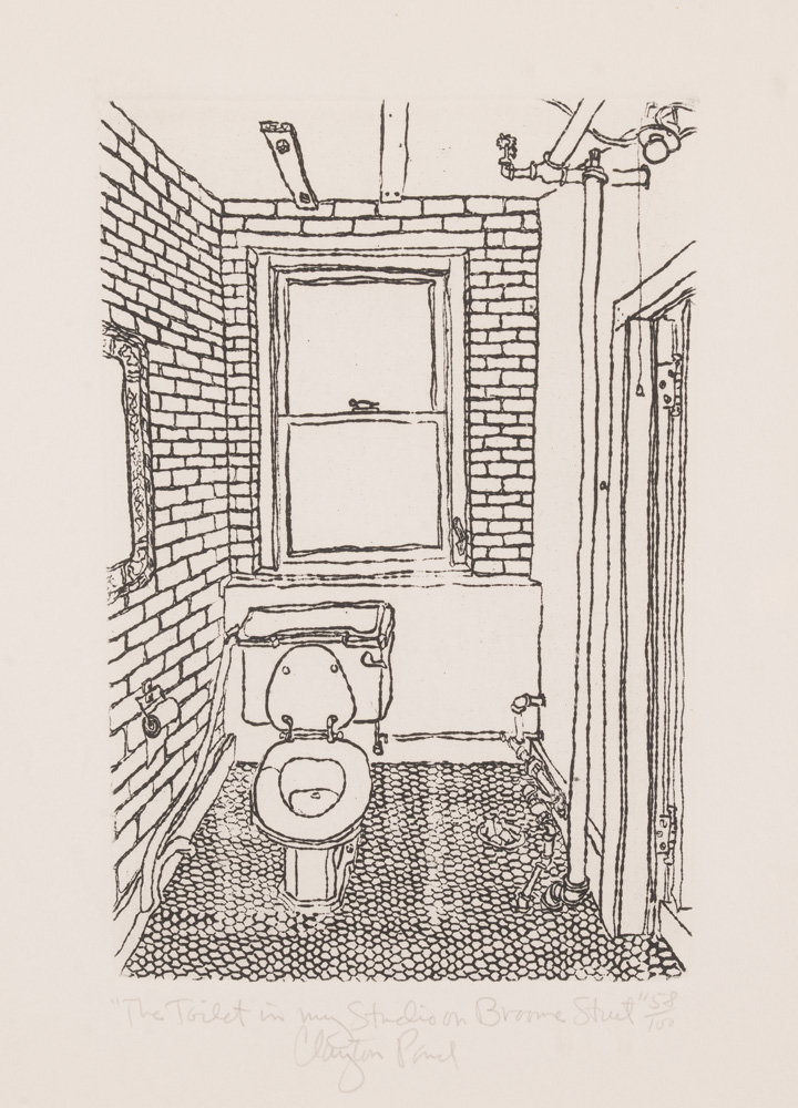 Toilet in My Former Studio on Broome Street