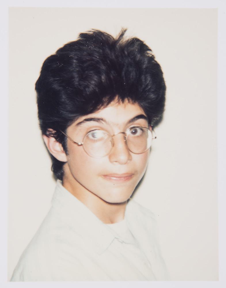 Unidentified Boy (wearing glasses)