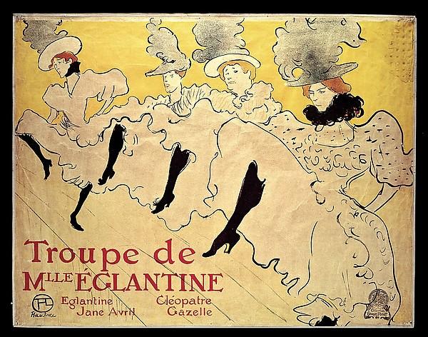 Le Troupe de Mademoiselle Eglantine