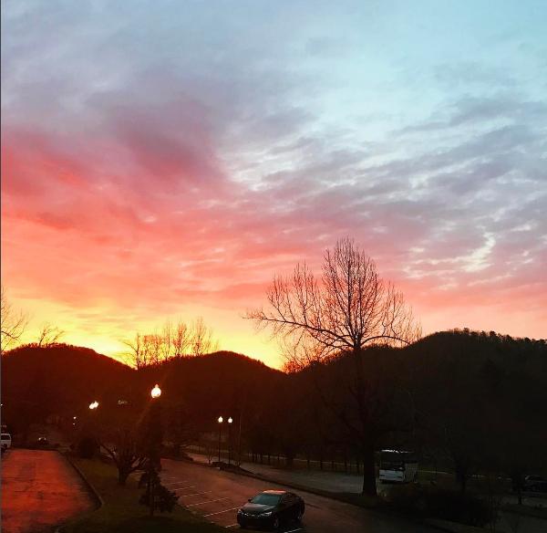 2.18.17 | Sunrise after Faith-Clinic prayers | 7AM