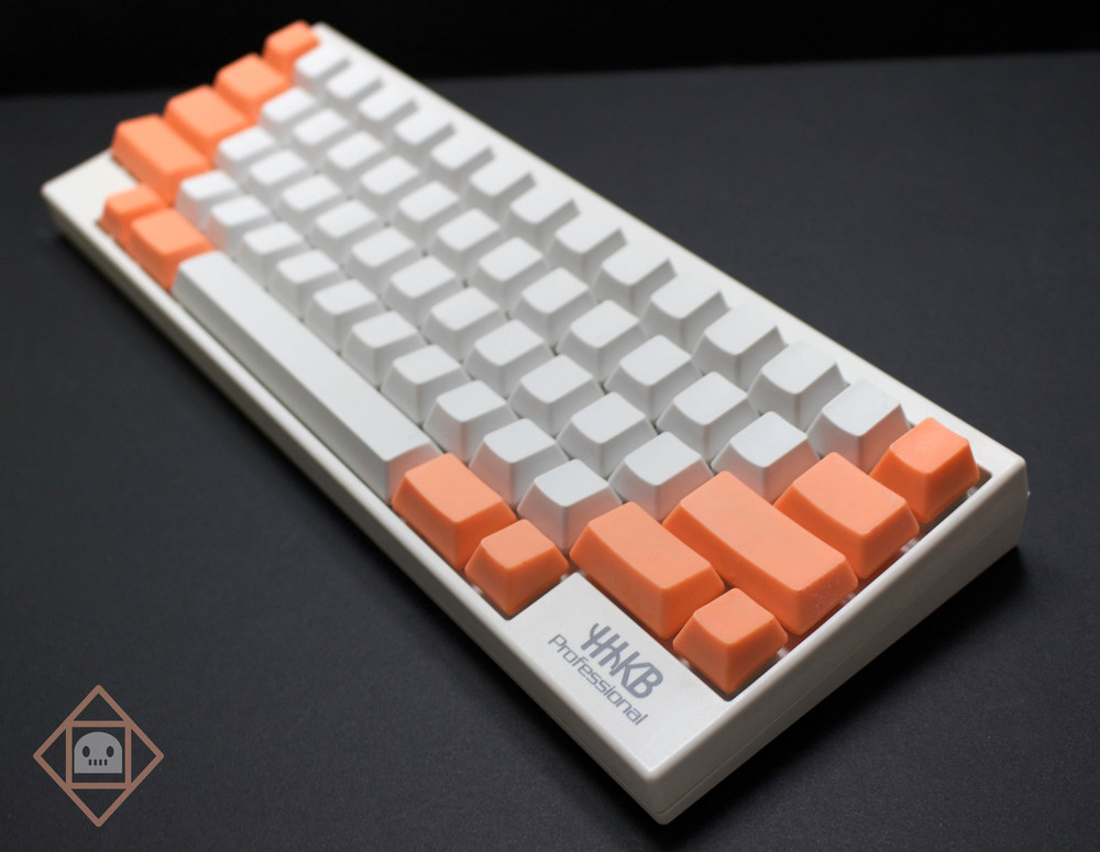 Sunset Sherbert HHKB set; I think it's more of an apricot color--what do you guys think?