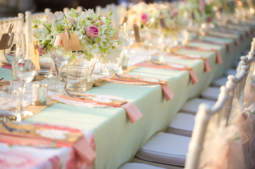 Outdoor Wedding Rustic Tablescape