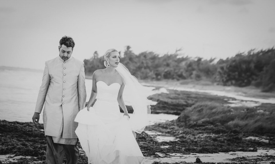 Fusion Beach Wedding