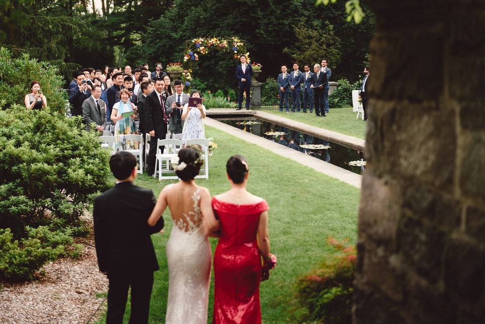 Summer Castle Wedding Ceremony
