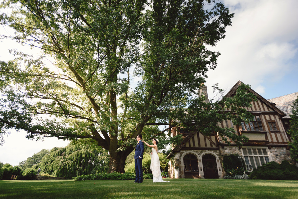 Castle Wedding Skylands Manor