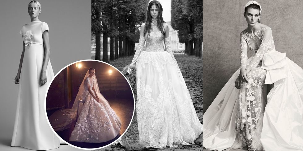 Photo by Imaxtree for Harpers Bazaar:  Viktor & Rolf ,  Elie Saab ,  Vera Wang  Bride and  Zuhair Murad