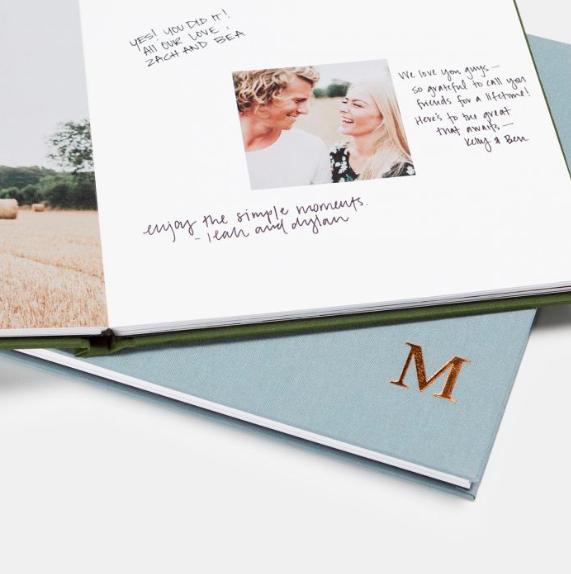 ArtifactUprising Wedding Guest Book