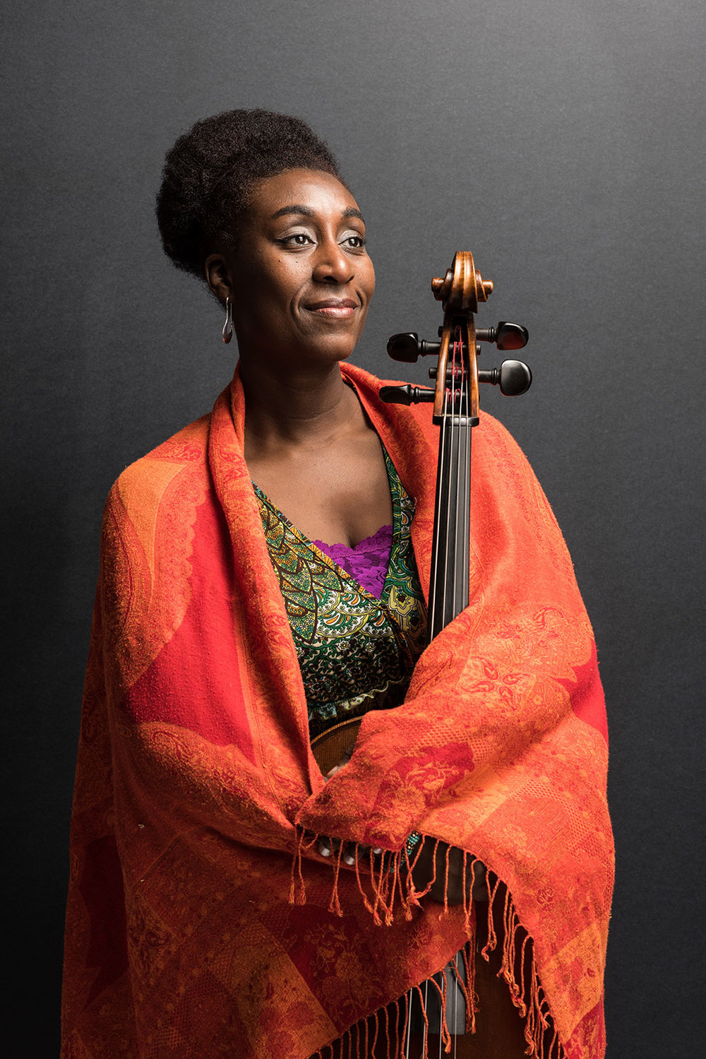 Marshunda Smith, cellist + conductor