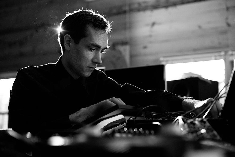 Jeff Snyder, composer, sound artist, instrument builder, Princeton music department