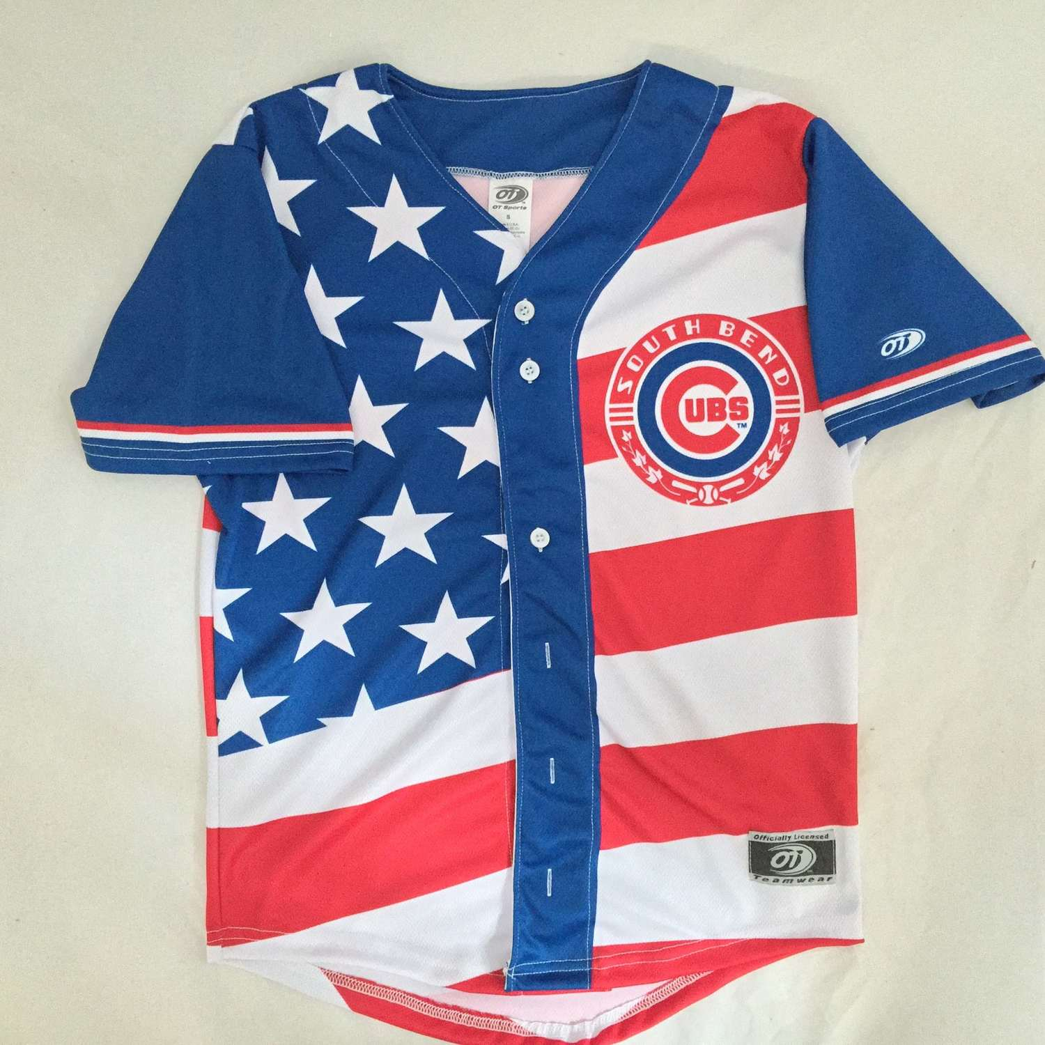 e86fa7ce4f8 Fourth of July Weekend jersey  South Bend Cubs jersey — OT Sports