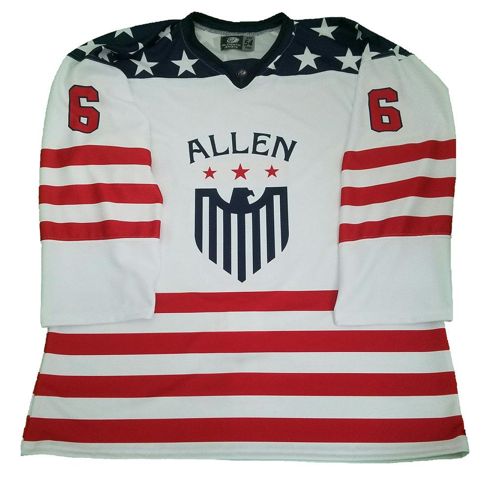 Allen Americans: Patriotic Jersey Night — OT Sports