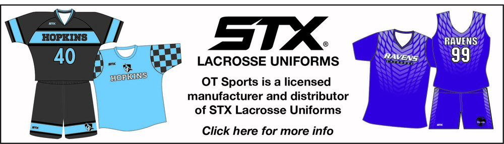 STX lacrosse uniforms