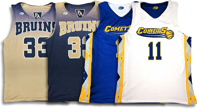 7332bc65f9dd Custom Basketball Jerseys — OT Sports