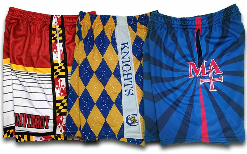 custom lacrosse uniforms  custom lacrosse shorts