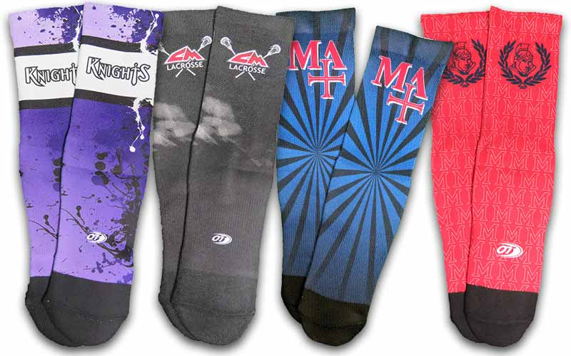 custom lacrosse uniforms  custom socks  custom lacrosse socks