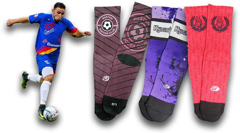 custom soccer uniforms  custom soccer socks
