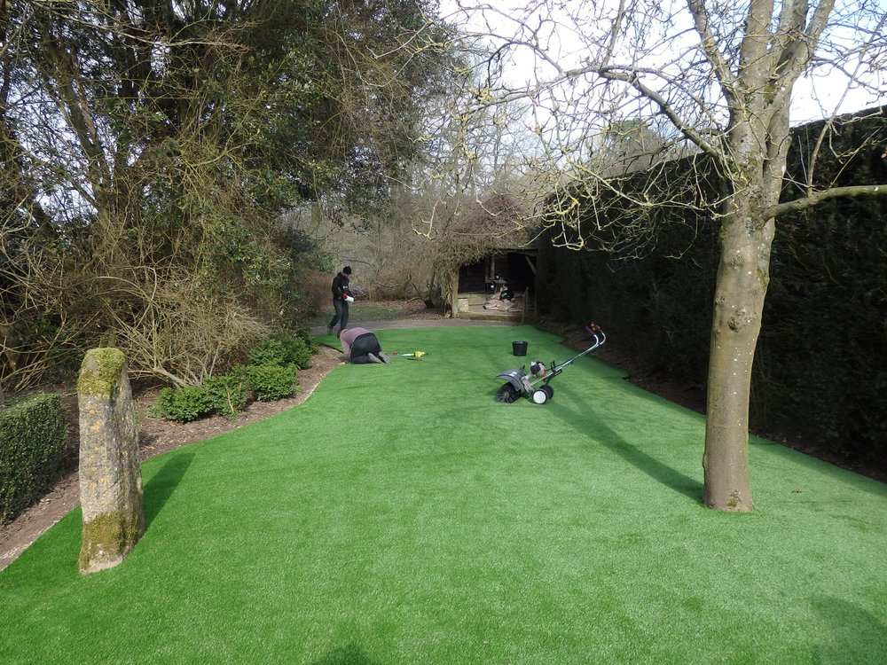 Laying the 'Lawn'